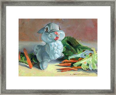 Thumper's Bounty Framed Print
