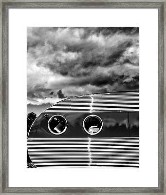 Thunder And Lightning Palm Springs Framed Print by William Dey