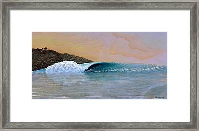 Thunder At The Break Of Dawn Framed Print by Nathan Ledyard