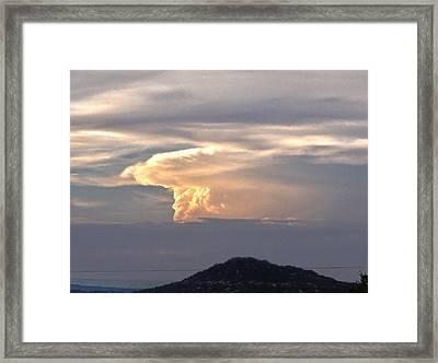 Thunder Framed Print
