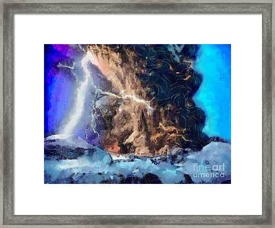 Thunder Struck Framed Print
