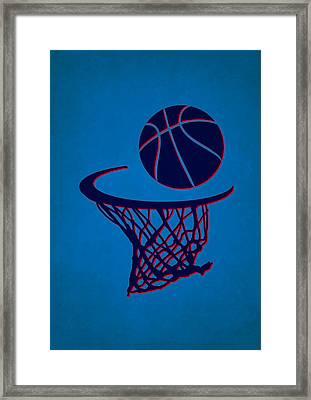 Thunder Team Hoop2 Framed Print