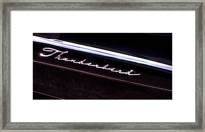 Thunderbird 14757 Framed Print