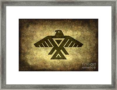 Thunderbird Framed Print by Bruce Stanfield