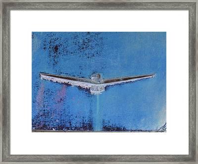 Thunderbird Logo Framed Print by Dietrich ralph  Katz