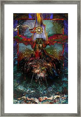 Thunderbird Of Reconciliation Framed Print