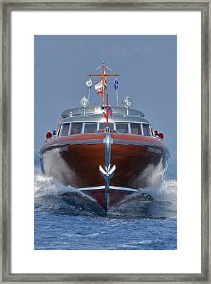 Thunderbird Yacht Framed Print