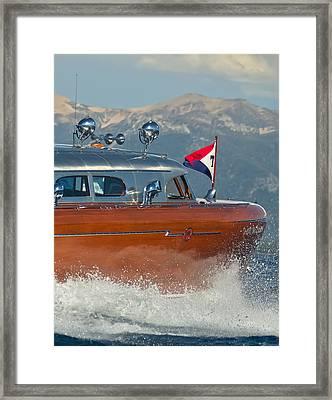 Thunderbird Up Close Framed Print by Steven Lapkin