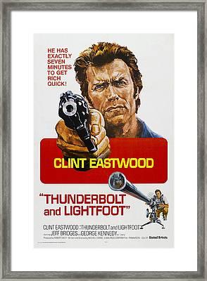 Thunderbolt And Lightfoot, Us Poster Framed Print