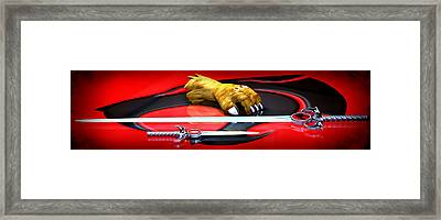 Thundercats - Ho Framed Print by Frederico Borges