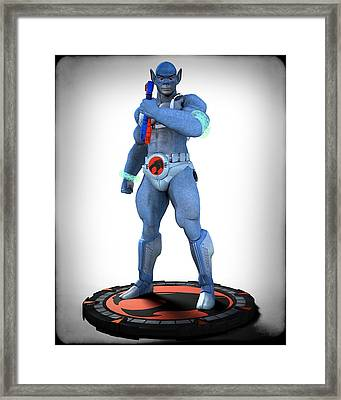 Thundercats - 3000 - Panthro V1 Framed Print by Frederico Borges