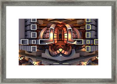 Thunderdome Framed Print by Ricky Jarnagin