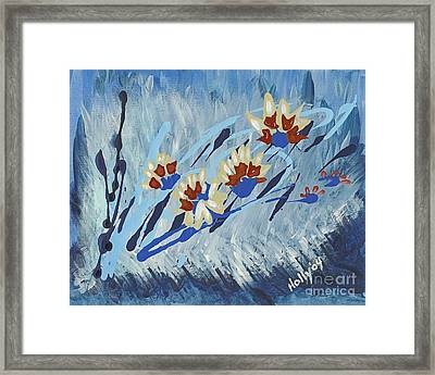 Thunderflowers Framed Print