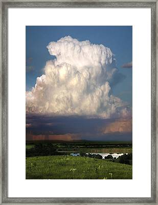 Thunderhead - Greenwood County Framed Print