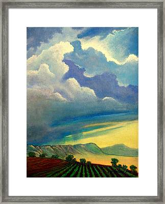 Thunderhead Framed Print by Jim Whalen