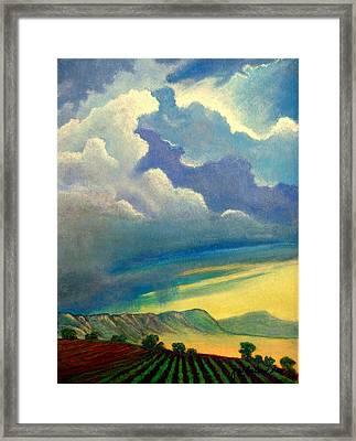 Thunderhead Framed Print