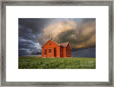 Thunderous Plains Framed Print