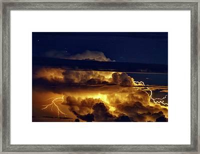 Thunderstorm From Haleakala Framed Print