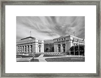 Thurgood Marshall Federal Judiciary Building Framed Print by Olivier Le Queinec
