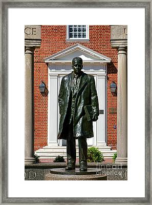 Thurgood Marshall Statue Framed Print by Olivier Le Queinec