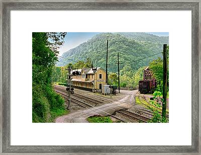 Thurmond After The Rain Framed Print