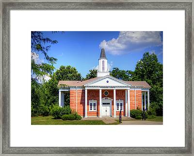 Thurmond Chapel Framed Print by Cricket Hackmann