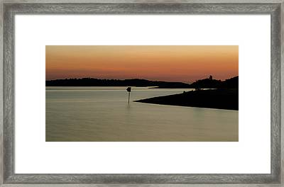 The Lake After Sunset Framed Print by Alexandre Martins