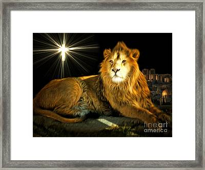 Thy Kingdom Come 201502113brun Framed Print by Wingsdomain Art and Photography