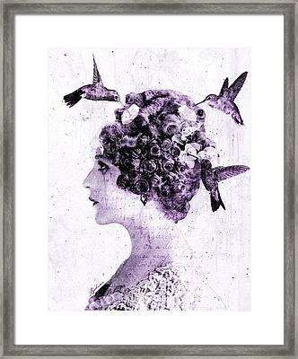 Thy Love Like Nectar Framed Print