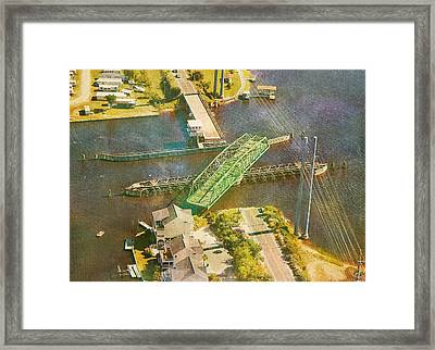 Ti Swingin' Swing Bridge Framed Print