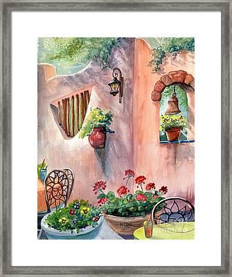 Tia Rosa's Framed Print by Marilyn Smith