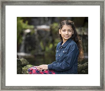 Tiana Framed Print