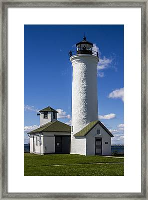 Tibbetts Point Lighthouse Framed Print by Ben and Raisa Gertsberg