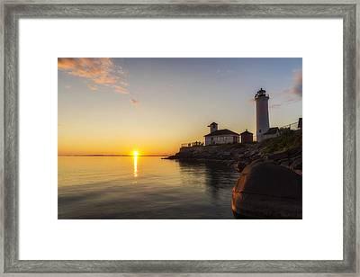 Tibbetts Point Lighthouse Framed Print