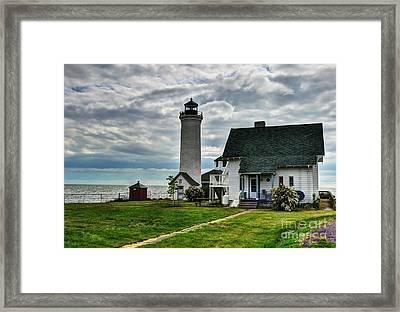 Tibbetts Point Lighthouse Framed Print by Mel Steinhauer