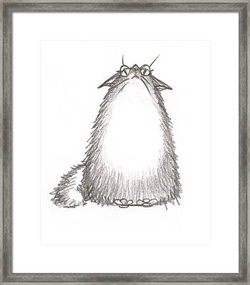 Tibby Good Mood Framed Print