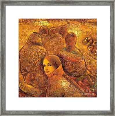 Tibet Golden Times Framed Print by Shijun Munns