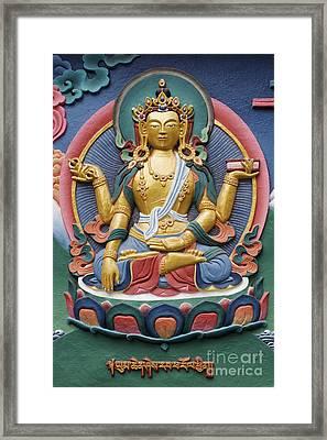 Tibetan Buddhist Deity Framed Print by Tim Gainey