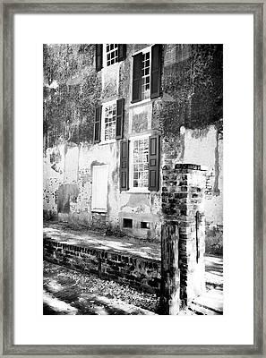 Tic Tac Window Framed Print by John Rizzuto