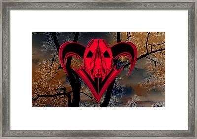 Ticker Symbol Spy Warrior Framed Print