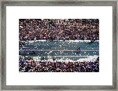Ticker Tape Parade, New York City, New Framed Print