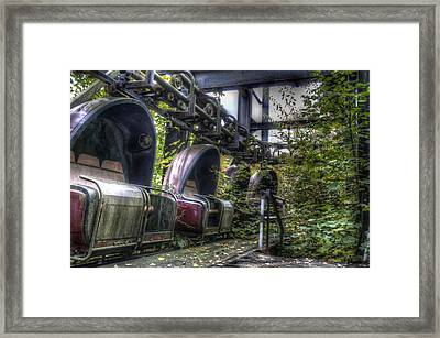 Ticket To Ride Framed Print by Nathan Wright