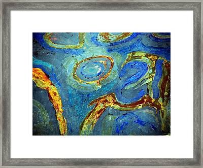 Tickled Framed Print by Leanna Lomanski