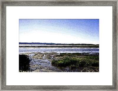 Tidal Flats Framed Print by Christopher Bage