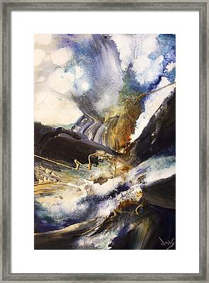 Tidal Force Framed Print by Jonas Gerard