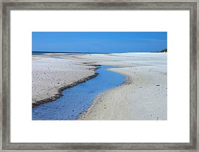 Tidal Pools Framed Print