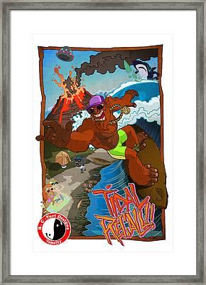 Tidal Recall  Framed Print by Nelson Dedos Garcia