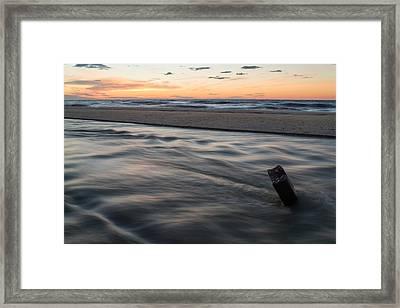 Tidal Rip Framed Print
