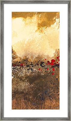 Tidal Sunrise Panel 1 Framed Print by Craig Tinder