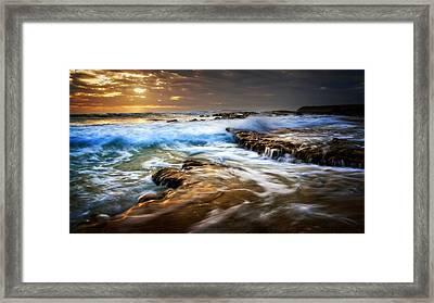 Tidal Wash Framed Print